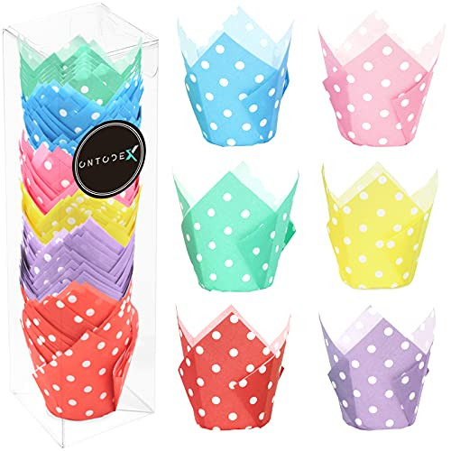 150pcs Cupcake liners Tulip Cupcake Wrappers Muffin Holder