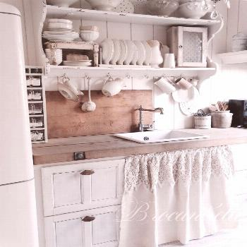 27 Country Cottage Style Kitchen Decor Ideas to make you fall in love with your kitchen again - hom