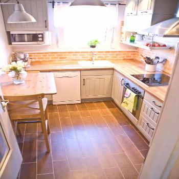 30 Nifty Small Kitchen Design and Decor Ideas to Change Your Cooking Area - Home Decors - -