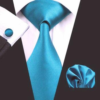 Teal Solid Silk Men's Tie Complete Set  Get it right now for only $34.99 . Check it out here: .  10