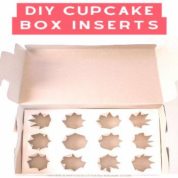 Traveling with cupcakes just got easier. and these DIY Cupcake Box Inserts are super easy to make.