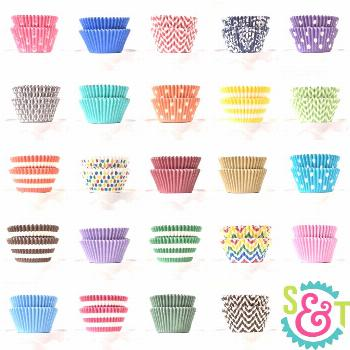When only the best greaseproof cupcake liners will do! Our BakeBright greaseproof cupcake liners ar