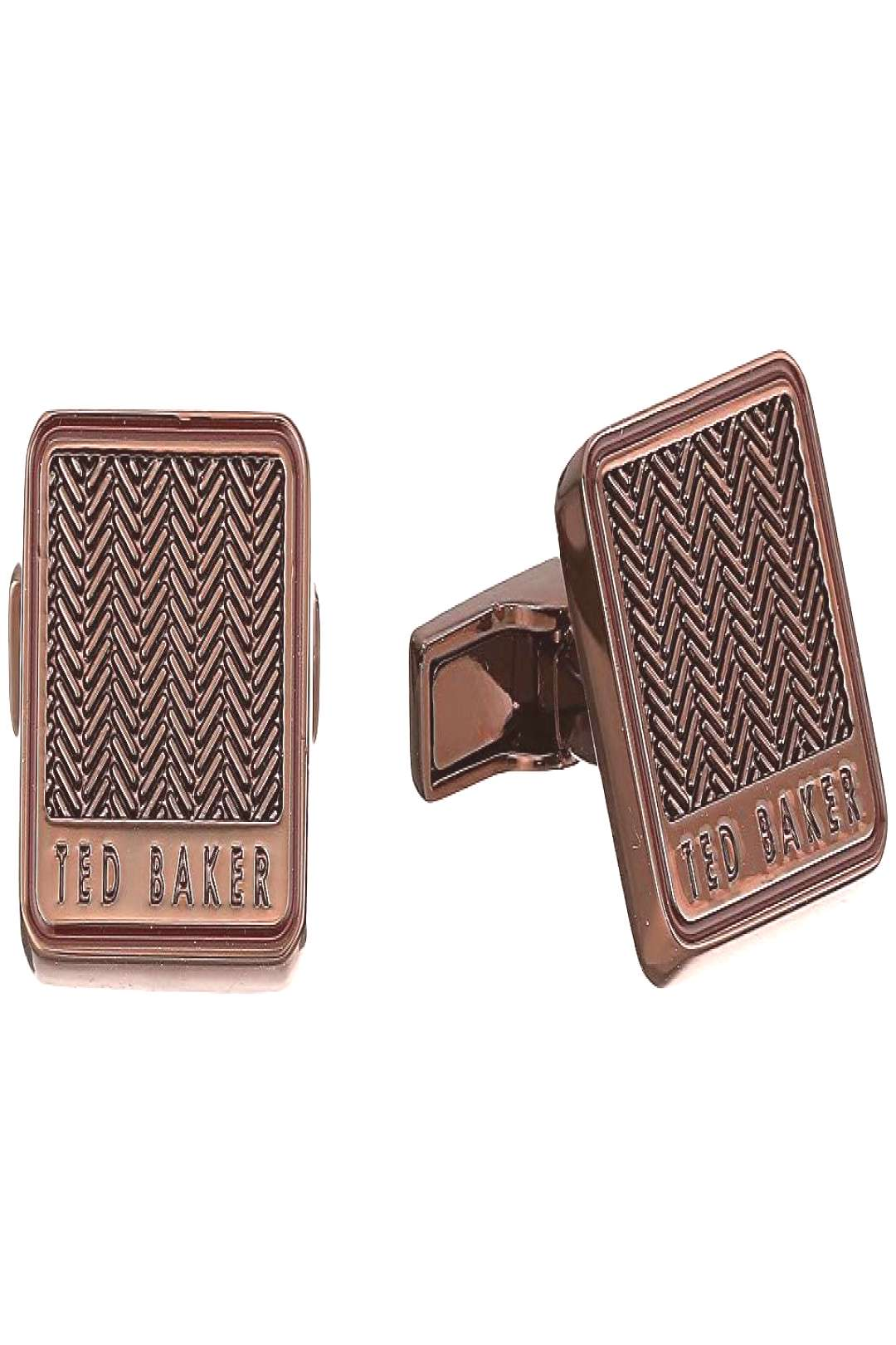 Ted Baker Braidy (Chocolate) Cuff Links. Keep your look fresh and clean with the Ted Baker Braidy c